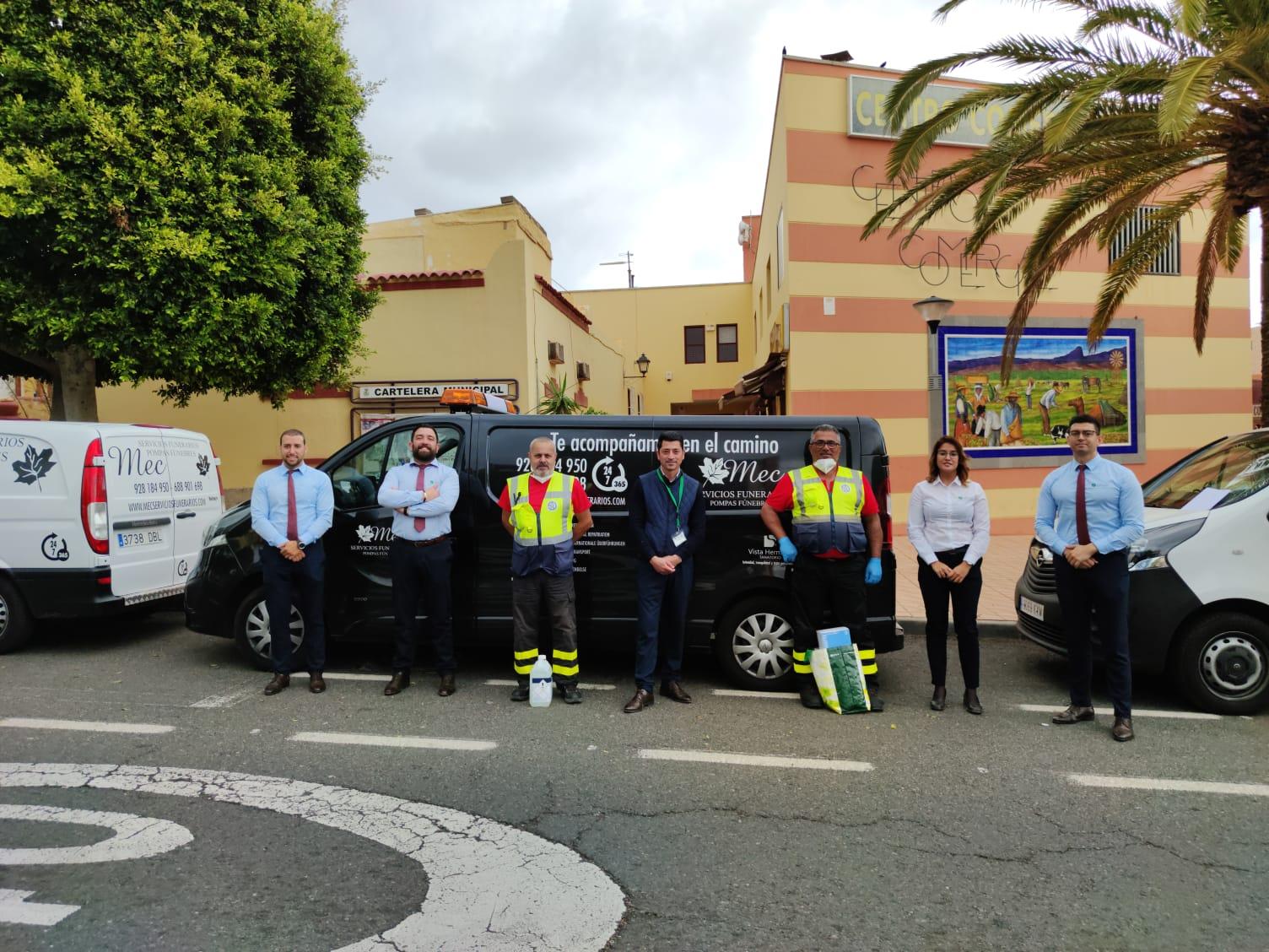 LOS GIORS AGRADECEN LA DONACIÓN REALIZADA POR MEC SERVICIOS FUNERARIOS