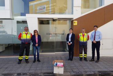 LOS GIORS AGRADECEN LA DONACIÓN REALIZADA POR EL TANATORIO VISTA HERMOSA